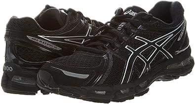 Asics 2013 Women S Gel Kayano 19 Running Shoe T350n Black Onyx Lightning 9 Running