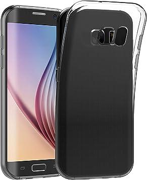 JETech Funda Compatible Samsung Galaxy S6 Edge, Carcasa de Absorción de Impactos, Transparente: Amazon.es: Electrónica