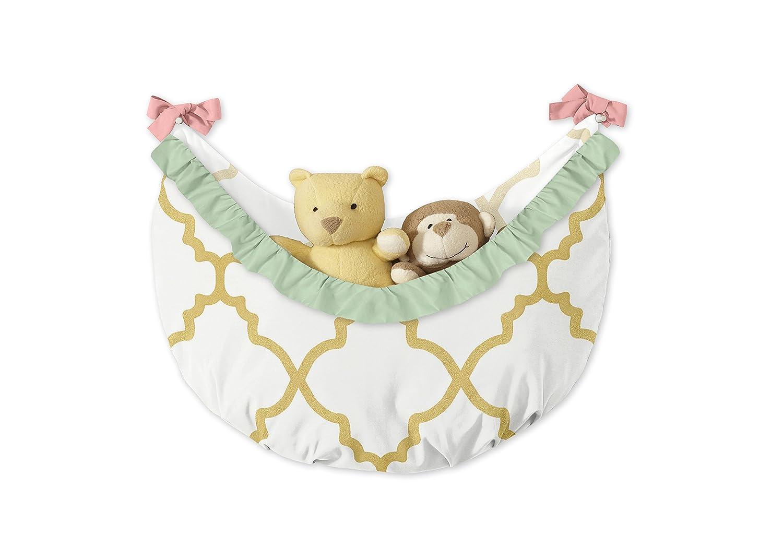 Sweet Jojo Designs Teddy Bear Bedding Crib or Toddler Fitted Sheet Solid Cream