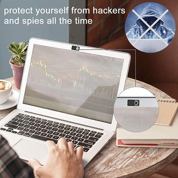 AJOXEL Webcam Cubierta Webcam Cover, 9 Unidades Cubierta de la Cámara Ultra Fino Tapa Webcam Protector Webcam para Tapar la Cámara del Portátil, ...