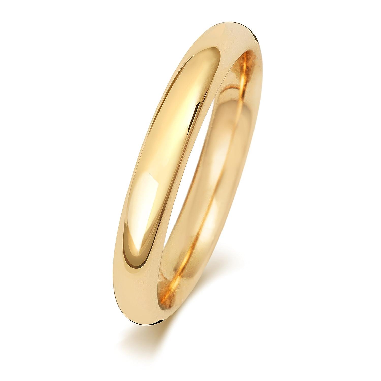 4ad332366db3 Outlet Alianza de Boda Hombre Mujer 3mm Oro Amarillo 18k (750) WJS242918KY
