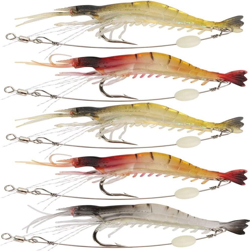 10 x Künstliche Tintenfisch Köder weicher Plastikköder