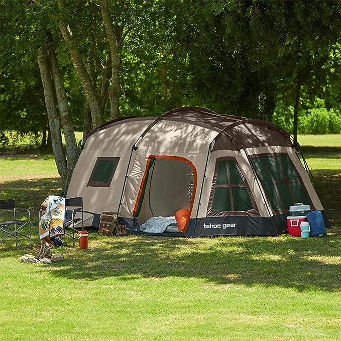 Tahoe Gear Ozark 3 Season 16 Person Family Tent