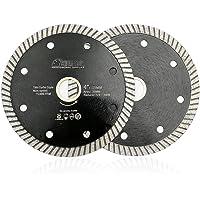 SHDIATOOL Super Thin Diamond Blade, 2pcs 4 Inch/105mm Cutting disc for Porcelain Ceramic Tile Granite