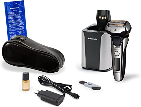 Panasonic ES-LV9N Máquina de afeitar de láminas Recortadora Negro ...