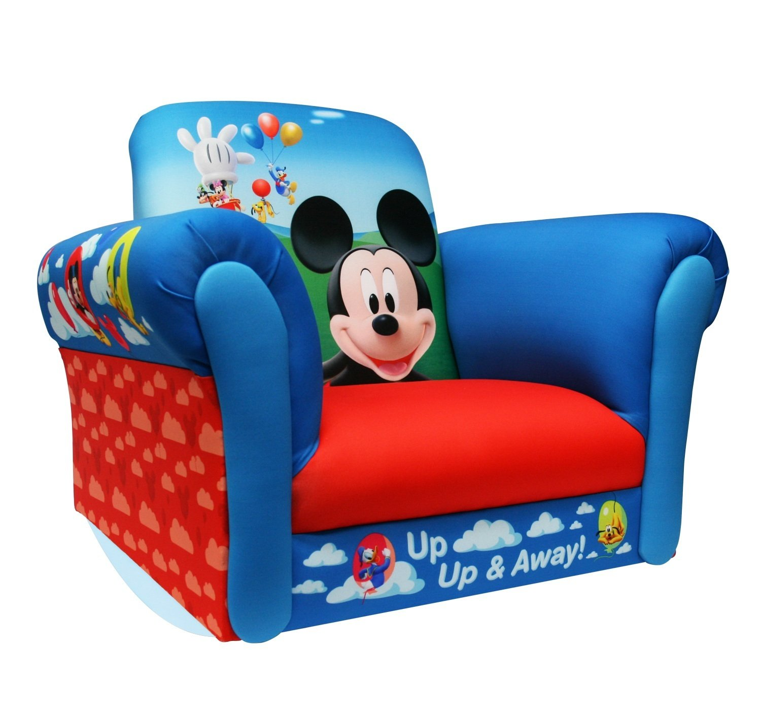 Amazon.com : Disney Rocker, Mickey Mouse Balloons (Discontinued By  Manufacturer) : Childrens Chairs : Baby