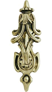 White Georgian Scroll Door Knocker 4 colours//finishes available