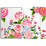Dadanism New iPad 10.2 2019 Case, iPad 7th Generation 10.2 inch Tablet Case, [Flexible TPU Translucent Frosted Back] Smart Stand Protective Cover with Auto Sleep/Wake for Girls Women,Colorful Flowers