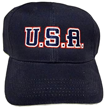 8f6648472c8 Made in America Store U.S.A. Embroidered Baseball Cap at Amazon ...