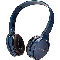 Panasonic RP-HF410BPUA Rp-Hf410Bpua Audífono Bluetooth Tipo Diadema (On-Ear), Color Azul, Funcion Manos Libres/Microfono, 24 Horas de Reproduccion Continua, Ultralivianos,