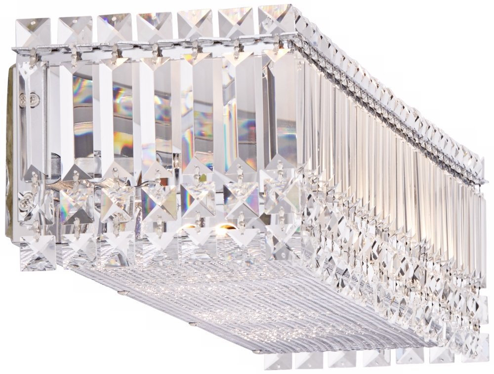 Possini Euro Crystal Columns 30\