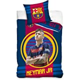 FC Barcelona Neymar Target Single/US Twin Duvet Cover Set