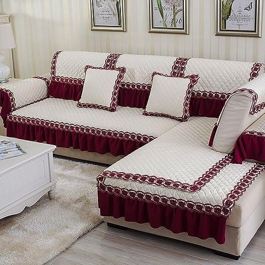 Cuatro Estaciones sofá cojines hogar moderno antideslizante ...