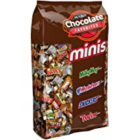 MARS Chocolate Minis Size Candy Bars Variety Mix 4 lb 240-Piece Bag