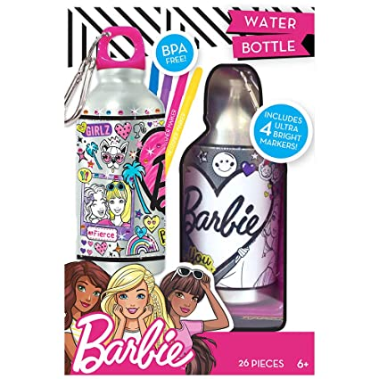 Amazon barbie by horizon group usa water bottle assorted toys barbie by horizon group usa water bottle assorted solutioingenieria Choice Image