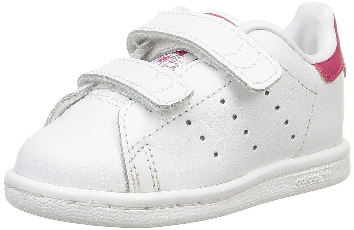 Adidas Stan Smith CF, Baskets bébé Fille B32704