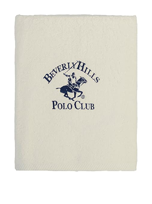 Beverly Hills Polo Club Toalla Manhattan Crema 85 x 150 cm