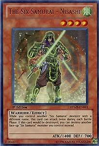 Zanji RYMP-DE092 Ultra Rare Yugioh Die Sechs Samurai