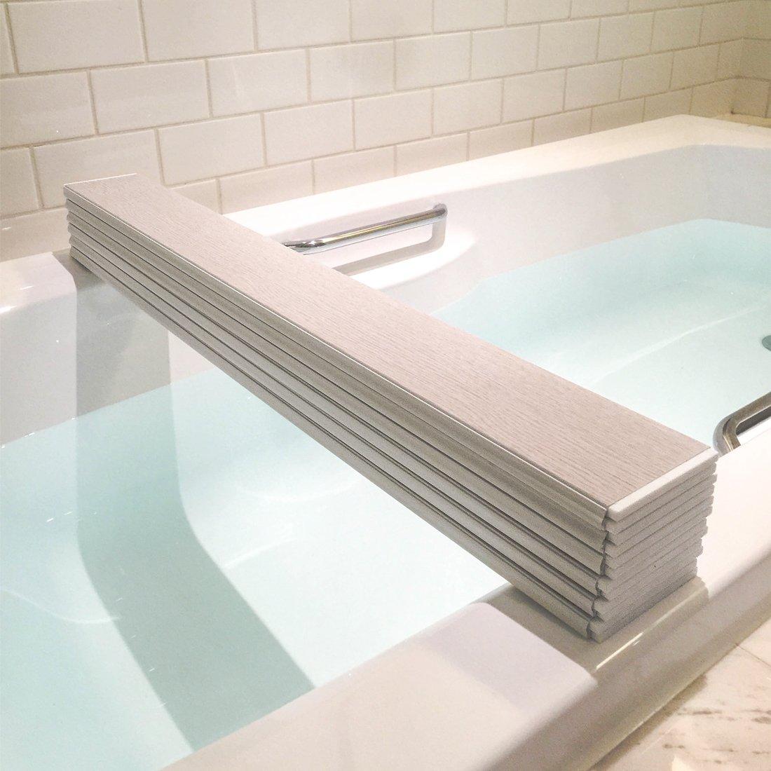 Mia home Folding Bathtub Tray, Good for Keeping Water Hot, Foldable ...