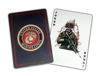 Amazon usmc professional quality marine corps playing cards usmc professional quality marine corps playing cards m4hsunfo