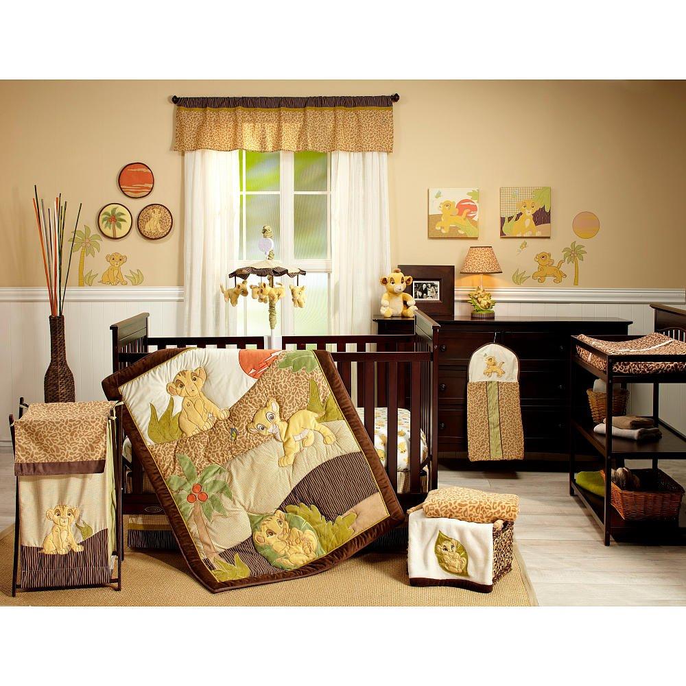 . Amazon com   Disney Lion King 7 Piece Crib Bedding Set   Baby