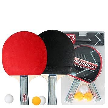 Raqueta De Tenis De Mesa, Juego De Tenis De Mesa, 2 Bates Y 3 ...