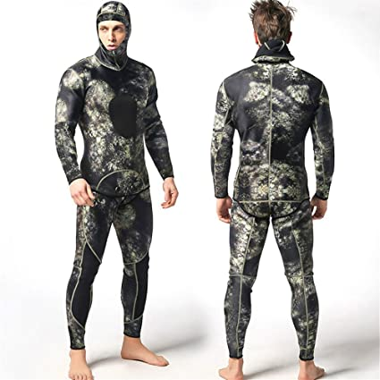 isafish camuflaje pesca submarina trajes para hombre diseño ...