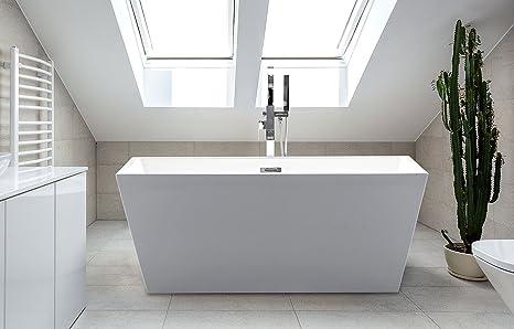 Vasca Da Bagno White : Britney libera installazione bianco vasche da bagno stand alone