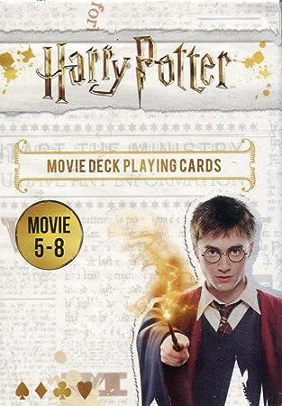 Cartamundi 108174128b Harry Potter - Juego de cartas (películas 5 a 8), diseño de Harry Potter , color/modelo surtido: Amazon.es: Juguetes y juegos