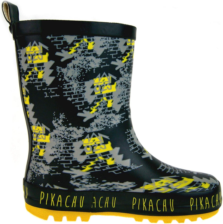 Lora Dora Pokemon Boys Wellington Boots Pikachu Rain Snow Wellies