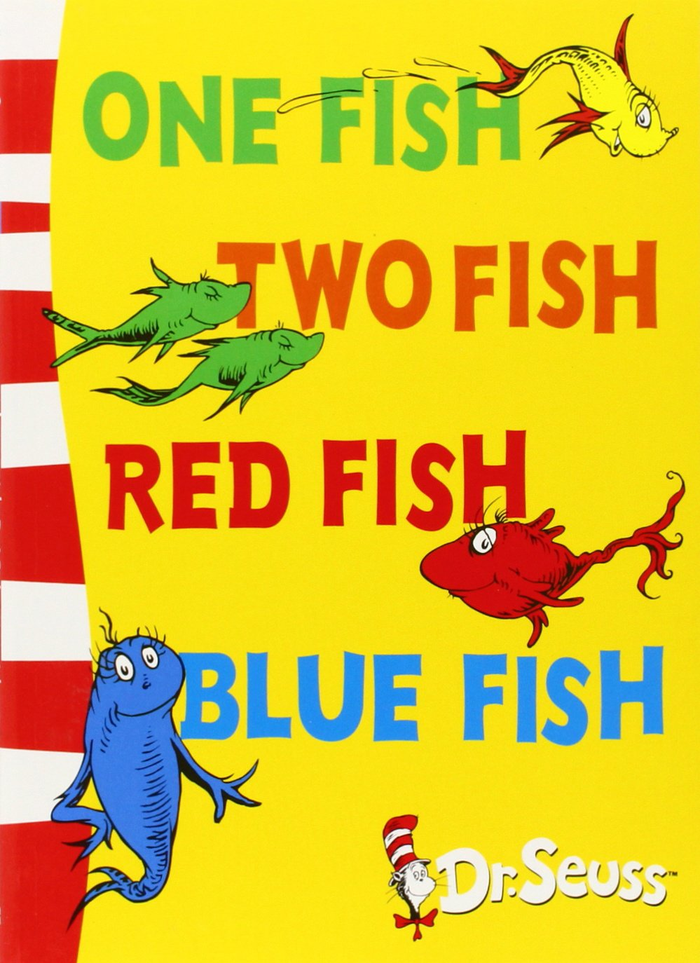 One Fish, Two Fish, Red Fish, Blue Fish: Blue Back Book (Dr Seuss ...