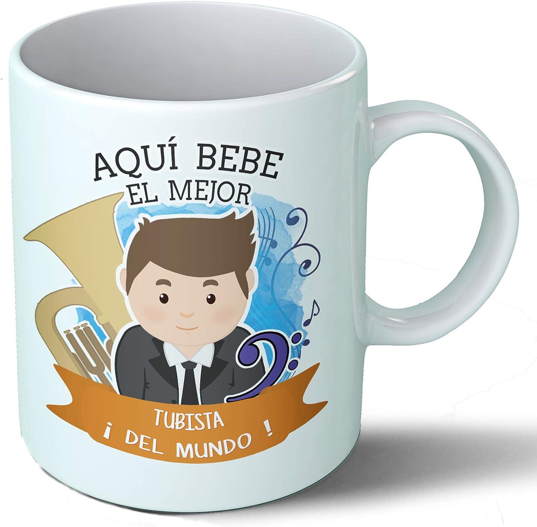 Planetacase Taza Desayuno Aquí Bebe el Mejor trompetista del Mundo ...