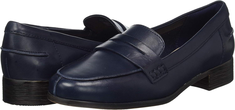 Navy Leather Navy Leather Azul 40 EU Clarks Hamble Loafer Mocasines