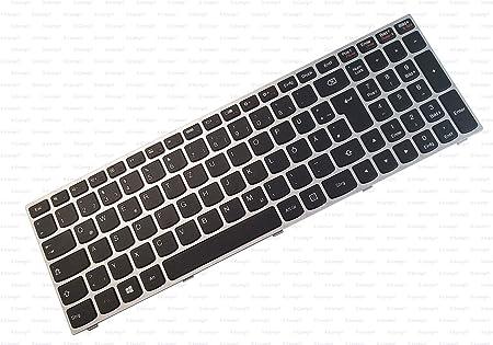 X-Comp - Teclado con Marco Plateado para Lenovo B50-80 (80EW ...