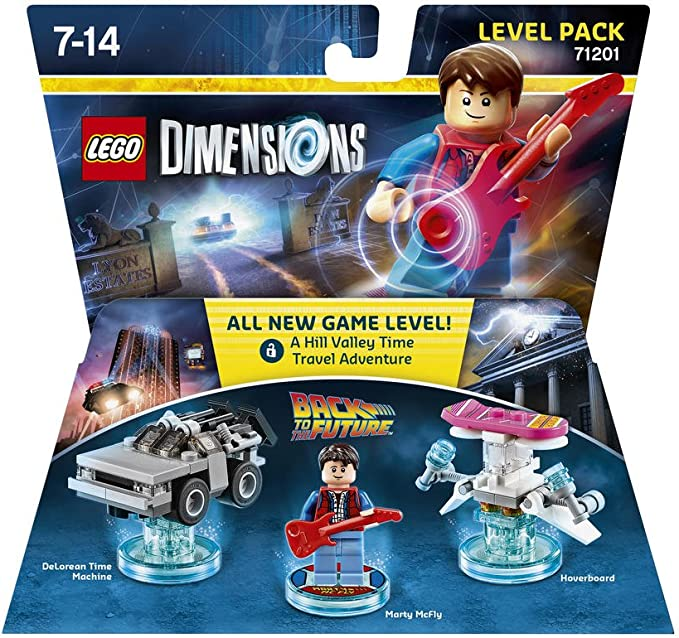 LEGO Dimensions - Back To The Future, Marty McFly: Amazon.es: Videojuegos