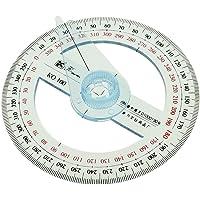 Circular 10 cm de Plástico 360 Grados Transportador