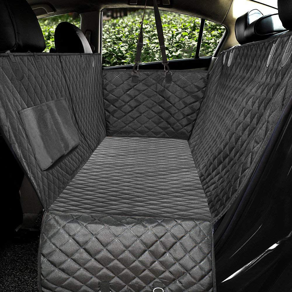 Honest Luxury Quilted Dog Car Seat