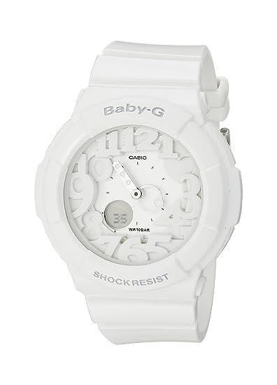 6b0f907b73c74 Image Unavailable. Image not available for. Colour  Casio Women s Baby-G  BGA131-7B White Plastic Analog Quartz Watch