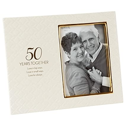 Amazon.com - Love for Always 50th Anniversary Picture Frame, 5x7 ...