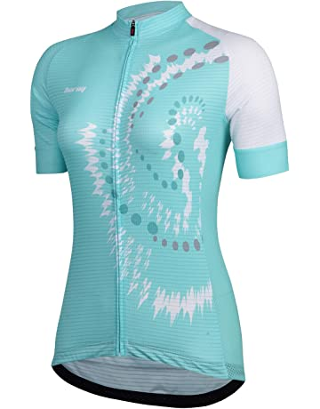 Beory Womens Cycling Jerseys with Short Sleeves d36e8c92c