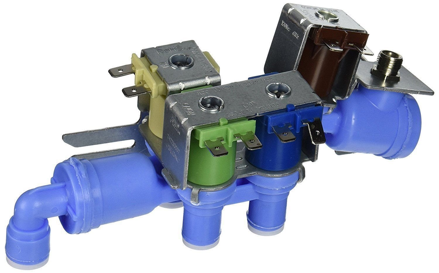 Protac NEW For Electrolux Frigidaire Kenmore 242253002 Four Way Quad Water Valve