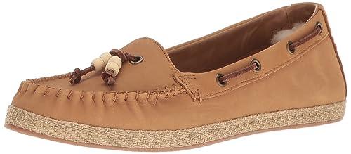 UGG Suzette Mujer Mocasín Zapatos, Color Marrón, Talla: Amazon.es: Zapatos y complementos
