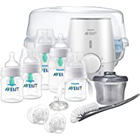 Philips SCD397/02 Avent Anti-colic Baby Bottle with AirFree vent Gift Set All In One