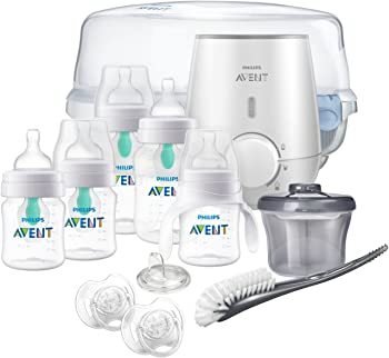 Philips SCD397/02 Avent Anti-colic Baby Bottle with AirFree vent Gift Set
