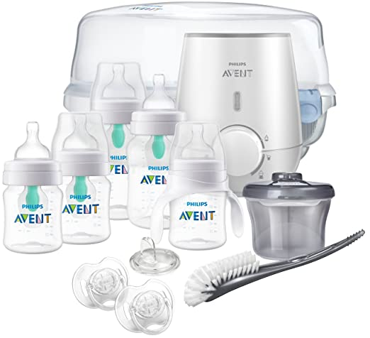 Amazon.com: Philips Avent - Botella anticólico para bebé con ...
