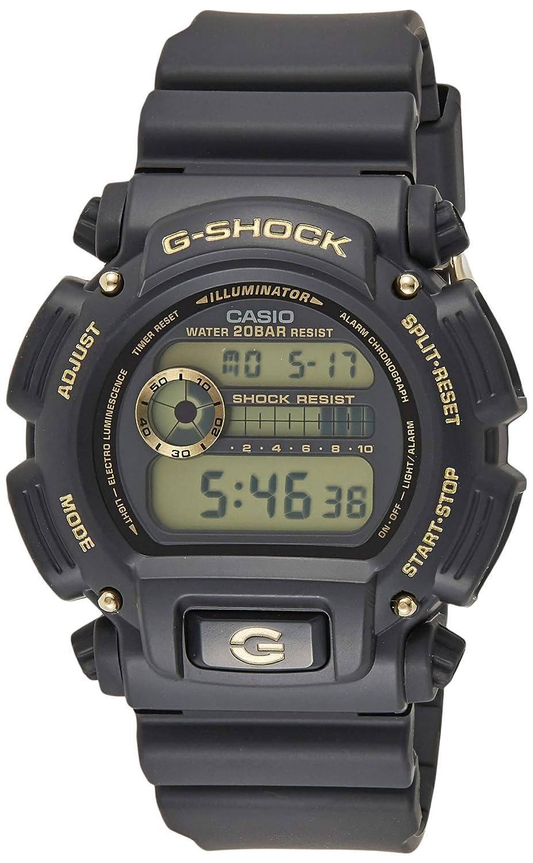 Casio DW9052GBX-1A9 G-Shock Chronograph Digital Men s Watch Black Gold