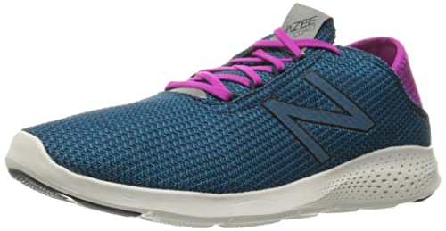 New Balance Vazee Coast, Zapatillas de Running para Mujer, Multicolor (Grey/Pink 026), 37.5 EU