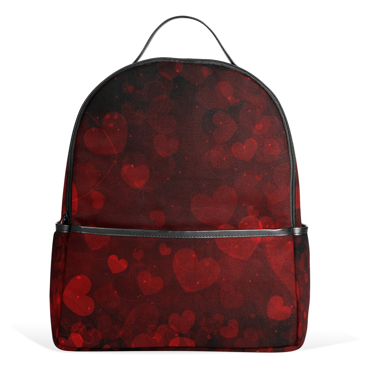 ALAZA Hearts Pattern Wedding Backpack for Boys Girls School Bookbag