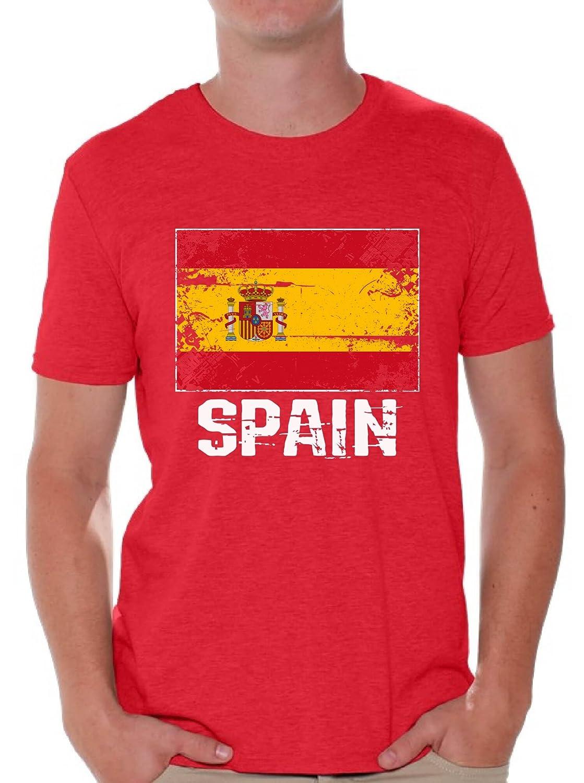 Amazon.com: Awkward estilos España camisas para hombres ...