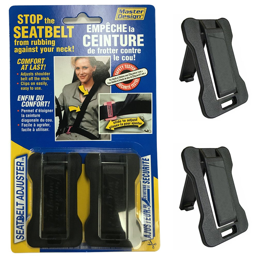M Design Comfort Universal Auto Shoulder Neck Strap Positioner (Pack of 2)